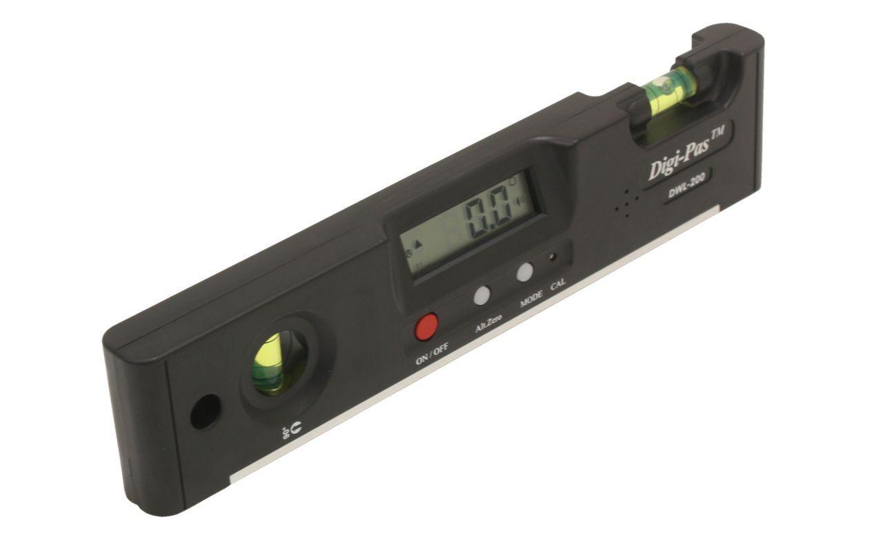 Accurate Digital Angle Gauge Predractor Inclinometer 0.1°Res  4 x 90° (0360°)