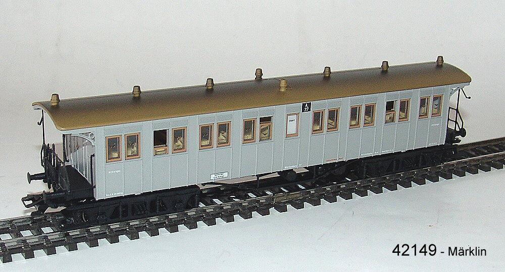 Märklin 42149 42149 42149 Plattform-Arztwagen der K.W.St.E.  NEU in OVP     Outlet Online Store  d8c88b