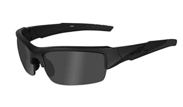 Wiley-X SSTWI01 Twisted Sunglasses Grey Lens//Matte Black Frame