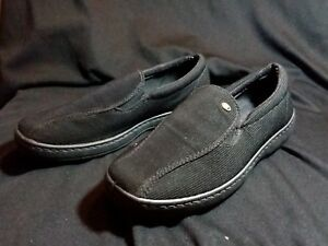 Bata-Mens-Slip-On-Casural-Black-Shoes-size-9