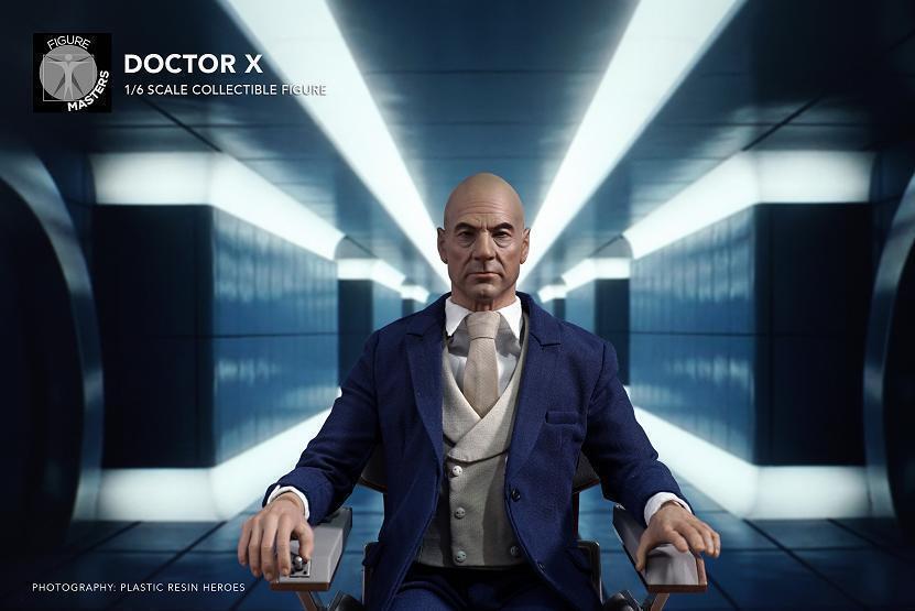 FigureMasters 1 6 Man Action Figure Doctor X Professor X Xavier Collection Model