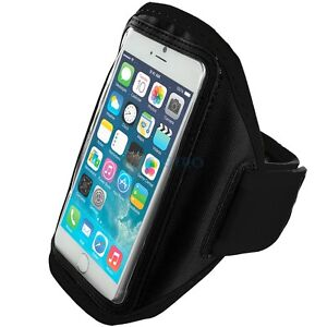 iPhone-6-4-7-034-Black-Padded-Arm-Band-Mobile-Phone-Holder-for-Running-Jogging
