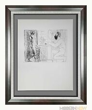 "Pablo PICASSO Lithograph LTD ed. ""Sculptor Seated by Window.."" ~ Sign ++FRAMING"