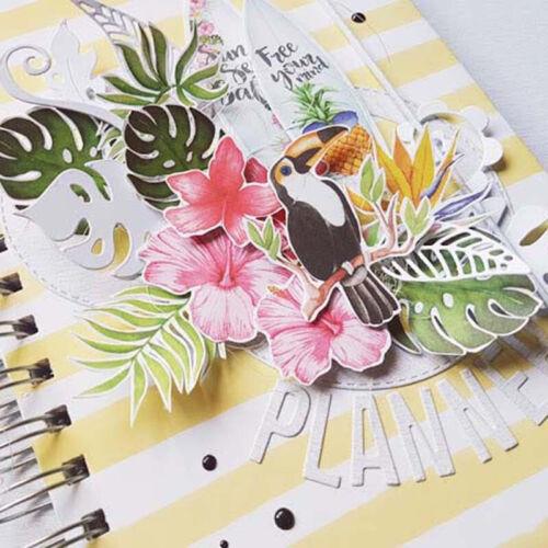 Leaf Metal Cutting Dies Stencil Embossing Scrapbooking Album Paper Card Decor