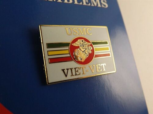 """Nova marca Alfinete De Lapela Usmc viet-vet Esmalte Vietnã 1 /"""""""