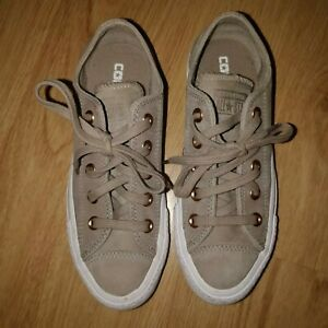 Star Top All Rose Gold Low Trainers Coverse 3 Suede Grey qPwftdx