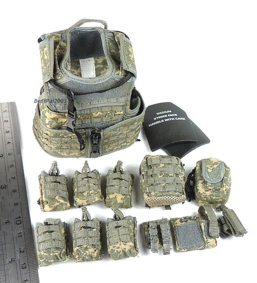 1 6 Scale RAV Vest + Pouch Set From From From Hot Toys US Army 10th Mountain Div Sniper 71ae8b