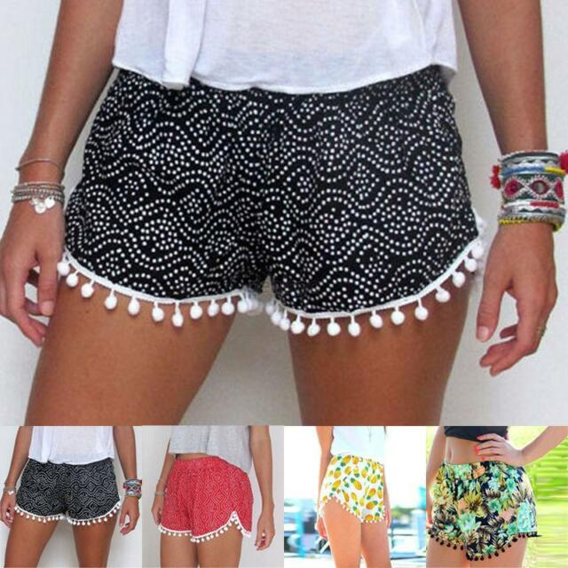 Fashion Women Lady's Sexy Hot Pants Summer Casual Shorts High Waist Short Beach