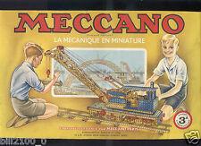 Meccano, manuel  N°3 A  . 1951/52