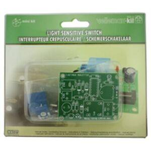 velleman light sensitive switch electronics kit mk125 ebay rh ebay ie