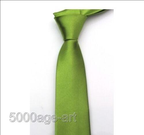 British Style Men/'s Plain Slim Narrow Arrow Necktie Skinny Tie Neckwear U Pick