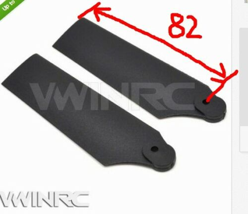 82mm High Hardness 550 Plastic Tail Blade For ALIGN T-REX 550 Rc Helicopter