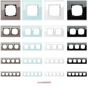 gira glas rahmen esprit serie system 55 in 4 farben einfach ausw hlen ebay. Black Bedroom Furniture Sets. Home Design Ideas