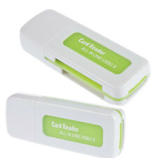 High Speed 4 in 1 USB 2.0 Memory Card Reader for SDHC TF Micro SD MMC MS M2 H3C