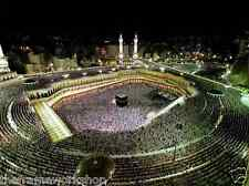 MECCA AERIAL VIEW - 3D LENTICULAR PICTURE POSTER 400mm X 300mm (NEW)