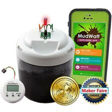 MudWatt Classic STEM Kit -- Clean Energy from Mud! -- Build a living fuel cell!
