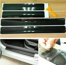 4x Carbon Fiber Car Door Plate Sill Scuff Cover Anti Scratch Sticker Accessories Fits Suzuki Equator