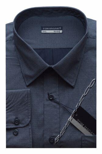 Nouveau Homme King Taille à manches longues à rayures//Chemise à carreaux 3XL 6XL par Tom Hagan