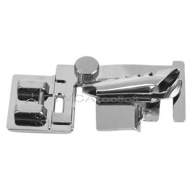 Bias Tape Binder Binding Foot Attachment Silver for Domestic Sewing Machine