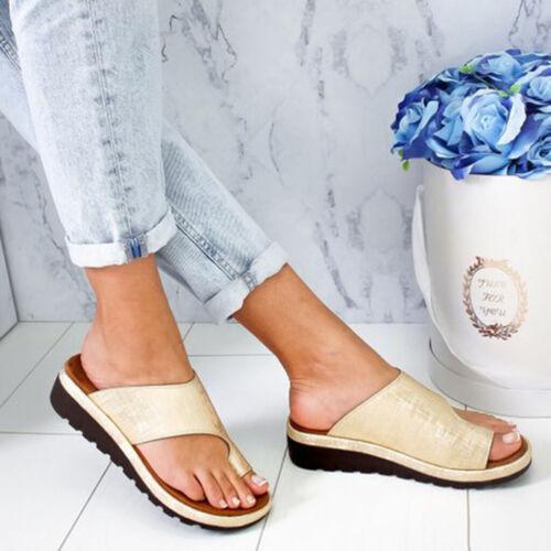 Women/'s Fashion Comfy Platform Sandal Shoes Summer Beach Ladies Travel Shoes