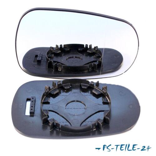 Spiegelglas für NISSAN MICRA K12 2003-2010  rechts asphärisch beifahrerseite