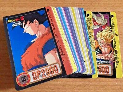 Carte Dragon Ball Z DBZ Carddass Hondan Part 5 #Reg Set 1990 MADE IN JAPAN