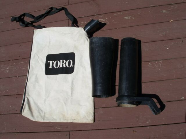 Toro 100 9065 Replacement Beige Leaf Blower Bag With Tube Collar For Sale Online Ebay