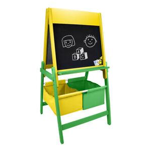 Crayola-Infantil-De-Doble-Cara-Caballete-De-Arte-De-Madera-Con-Set-Accesorios-creativo