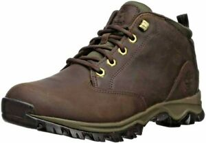 Men's Timberland Maddsen Mid Waterproof Hiking Chukka Ankle Boots Brown A1VP2