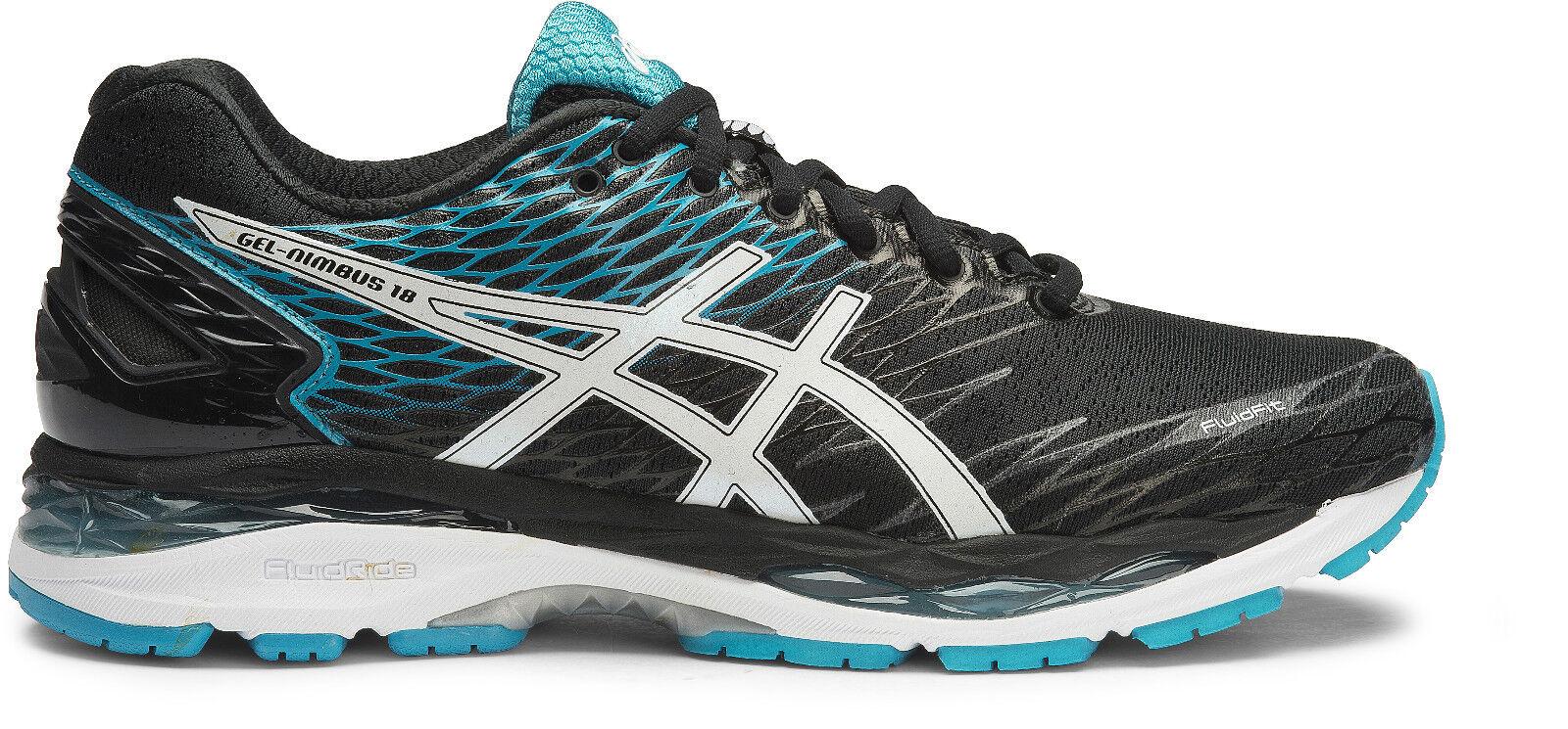 nuevo  Asics Asics Asics Gel Nimbus 18 Para Hombre Running zapatos (D (9001 af0b59