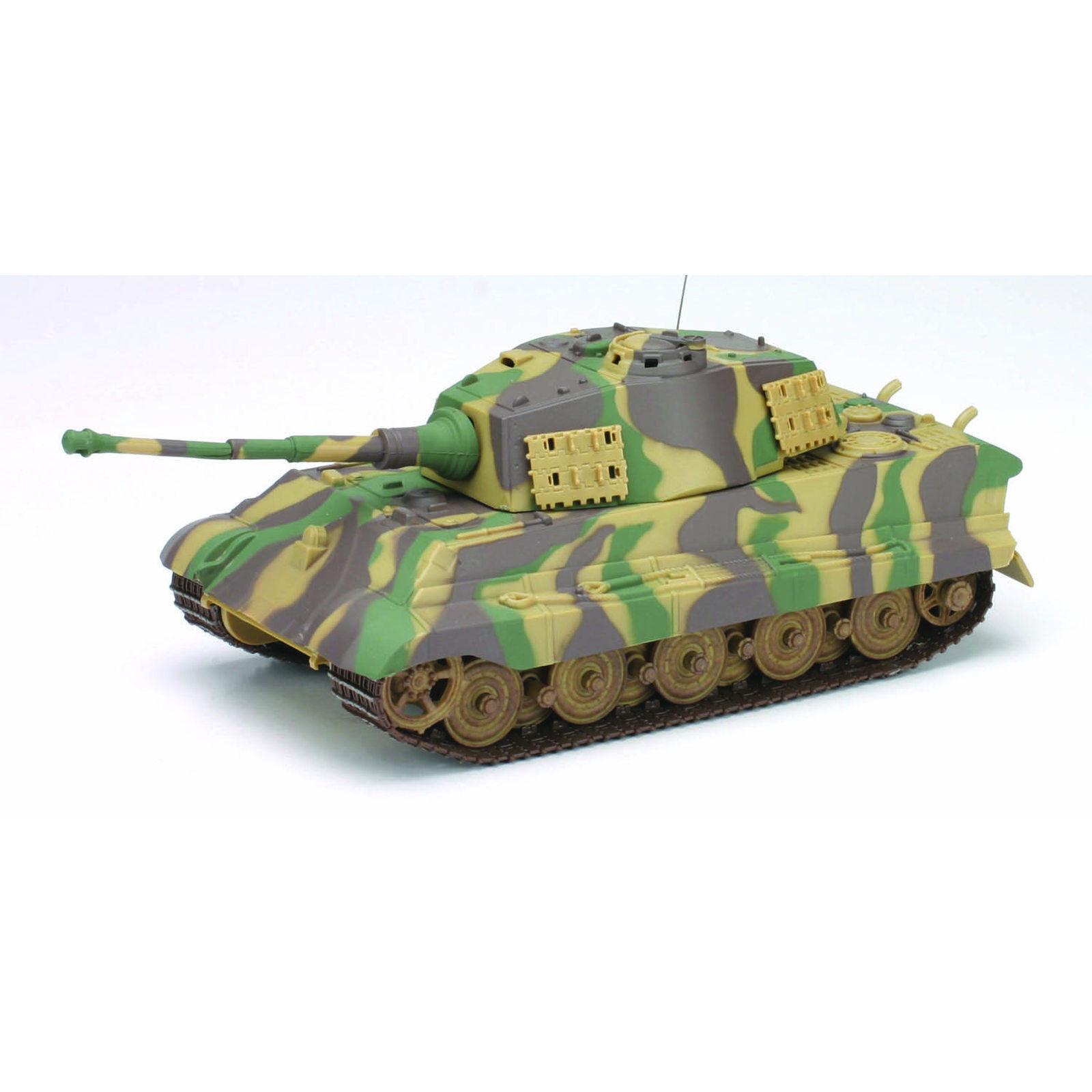 Ferngesteuert Heavy Metal Panzer King Tiger 1:32 27MHz