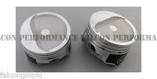 Speed Pro/TRW Chevy 350 Forged Dish Supercharged/Turbo Pistons Set/8 8.3:1 +30