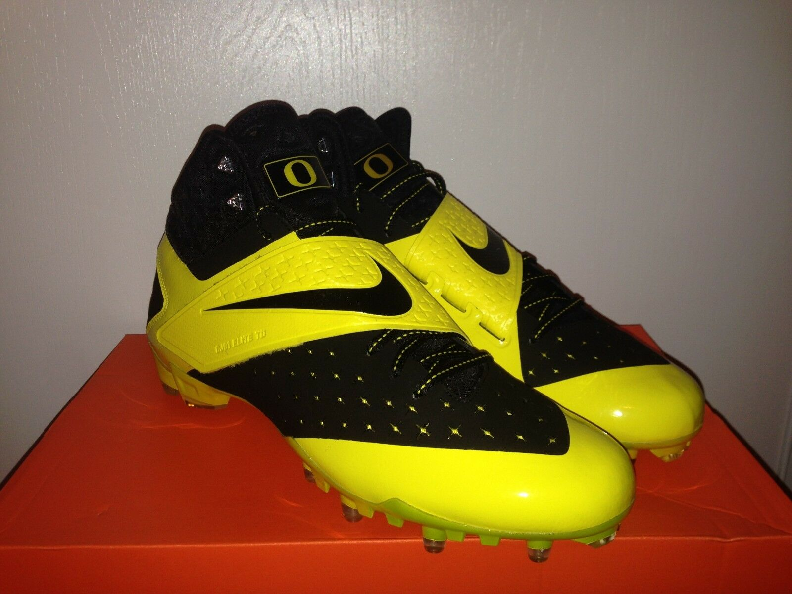 Nike Oregon Ducks CJ81 Elite TD Issued Player Exclusive PE Rare Cleats Clr SZ 13