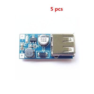 5Stk  Mini PFM Control DC-DC USB 0.9V-5V DC Boost Step-up Power Supply Module