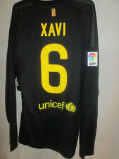 Barcelona 2011-2012 Xavi 6 Away Football Shirt Long Sleeves BNWT mans Large /sh