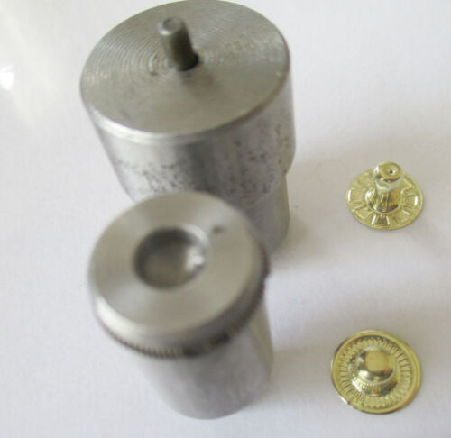12 and 15mm Snap Fasteners Hand Press Machine Setter Die for 10