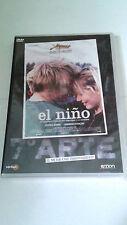"DVD ""EL NIÑO"" PRECINTADA JEAN PIERRE LUC DARDENNE JEREMIE RENIER"