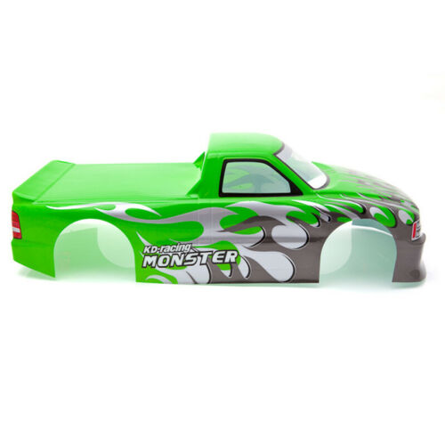for 1//10 RC Car Venom T-10 PVC Painted Body Shell 1//10 RC Car Pick Up Truck M3G3