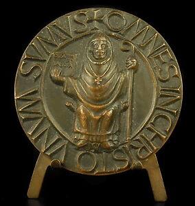 Medal-Religious-Christian-Unum-Sumus-Omnes-Inchristo-65-mm-157-G-Medal