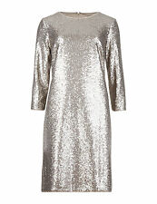 M&S COLLECTION Sequin Embellished Tunic Dress Size UK18/EUR46 Short BNWT