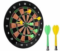 18magnetic Dart Board Dartboard 6 Darts Party Game Toy Playset Kids Childrens