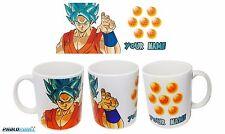 New Goku SSJ Blue Dragon Ball Z DBZ coffee mug 11oz Your Name Gift