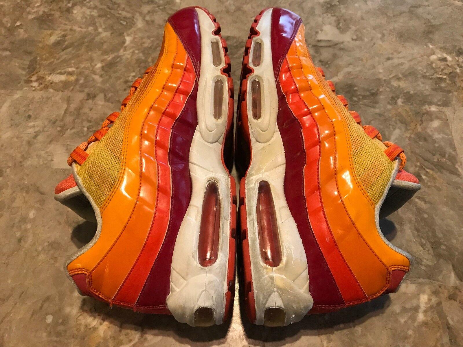 RARE 2018 Nike Air Max 95 Human Torch Fantastic Four Pack Size 12 (609048-681)