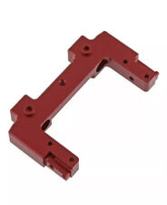 red STRC STA31380RR Aluminum Rear Shock Towers for Axial SCX10 II