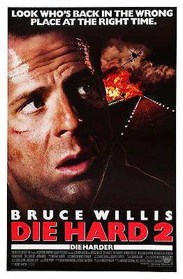 Die Hard Bruce Willis  Vintage Retro Poster  A0-A1-A2-A3-A4-A5-A6-MAXI 348