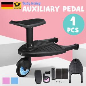 25kg Kiddy Buggyboard Sitz f/ür Kinderwagen Rollbrett Board Trittbrett Farbwahl
