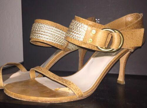 DIOR Sandals Heel Shoes 38 (US 8)