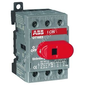 ABB Switchline Electrical 16A 25A Switch Disconnector Isolator ...