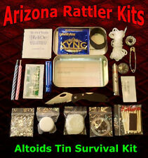 Altoids Tin Survival Kits Emergency pocket survival camping hiking hunting packs