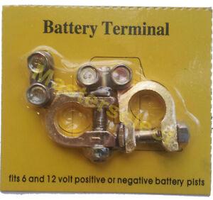 2 cosses de batterie changement suite oxydation et pour voiture auto ebay. Black Bedroom Furniture Sets. Home Design Ideas
